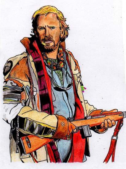 Kevin Costner by Toon24